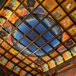 130年ぶりに新調された天井画